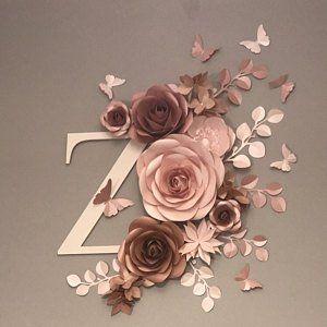 Riesige Papier Blume Wand - große Papierblumen - Papier Blume Hintergrund - Papier Blume Wand #largepaperflowers