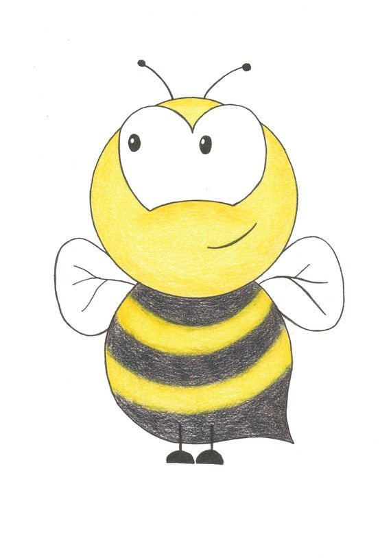 Nursery Room Wall Art Bumble Bee 5x7 Matted by BrickHouseStudio ...