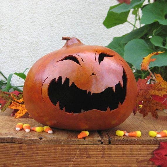 Adorable Halloween gourds