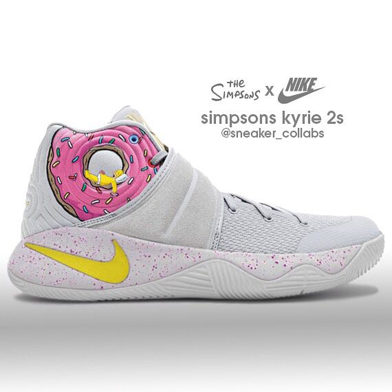 Nike Kyrie 2 x The Simpsons (send requests to  sneaker  concepts and he ll  do em) 45d3b79ad