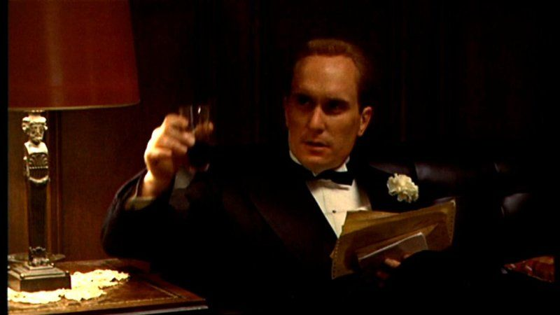 Robert Duvall Tom Hagen Dans Le Parrain The Godfather The Godfather Robert Duvall Godfather Movie