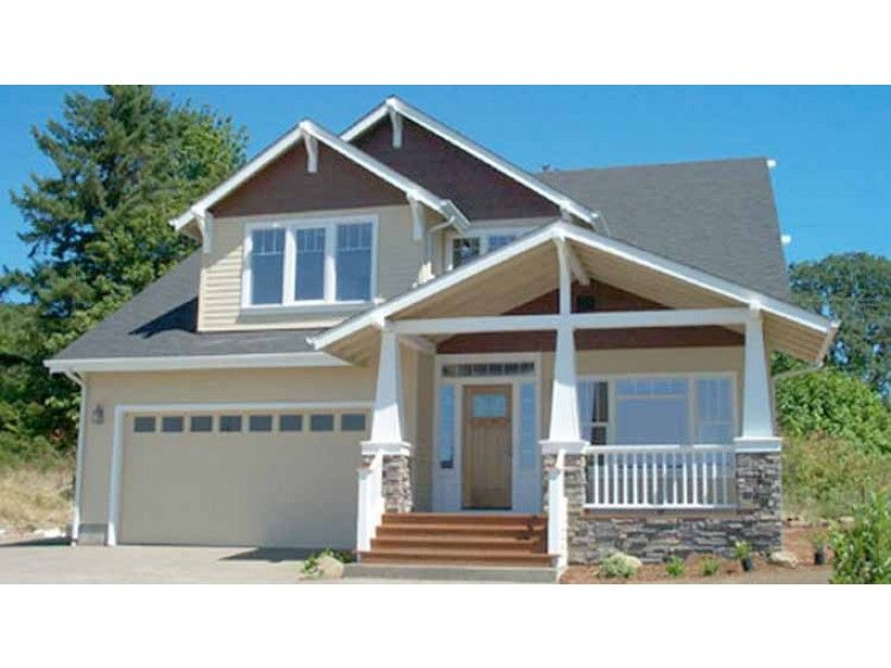 Craftsman Style 2 Story 4 Bedrooms S House Plan With 2173