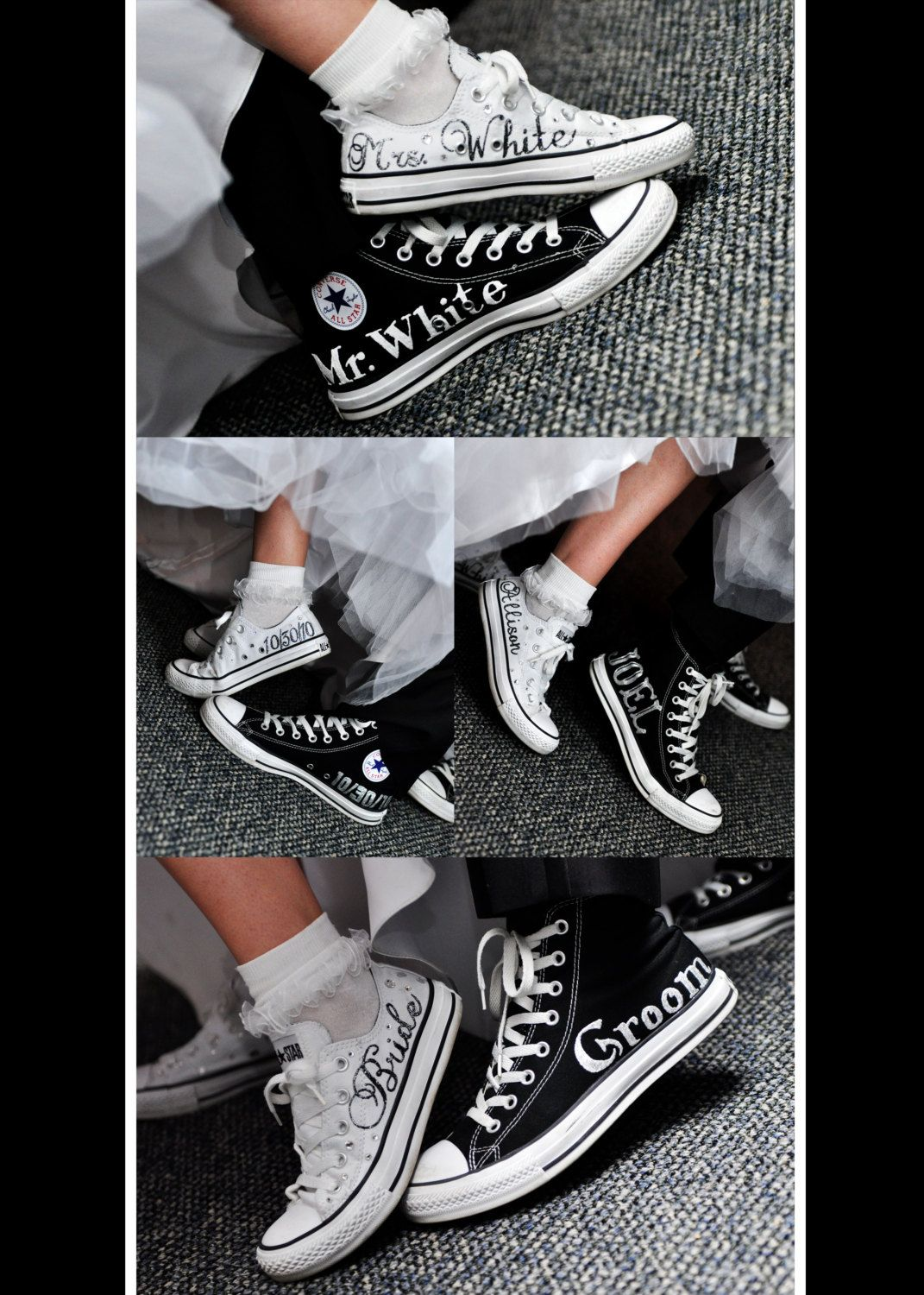 Made To Order Wedding Bridal Converse