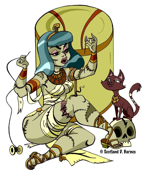 Мультик где девочка и мумия фото 769-442