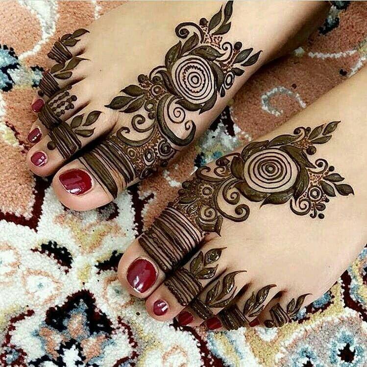 arabic mehndi design pero ki