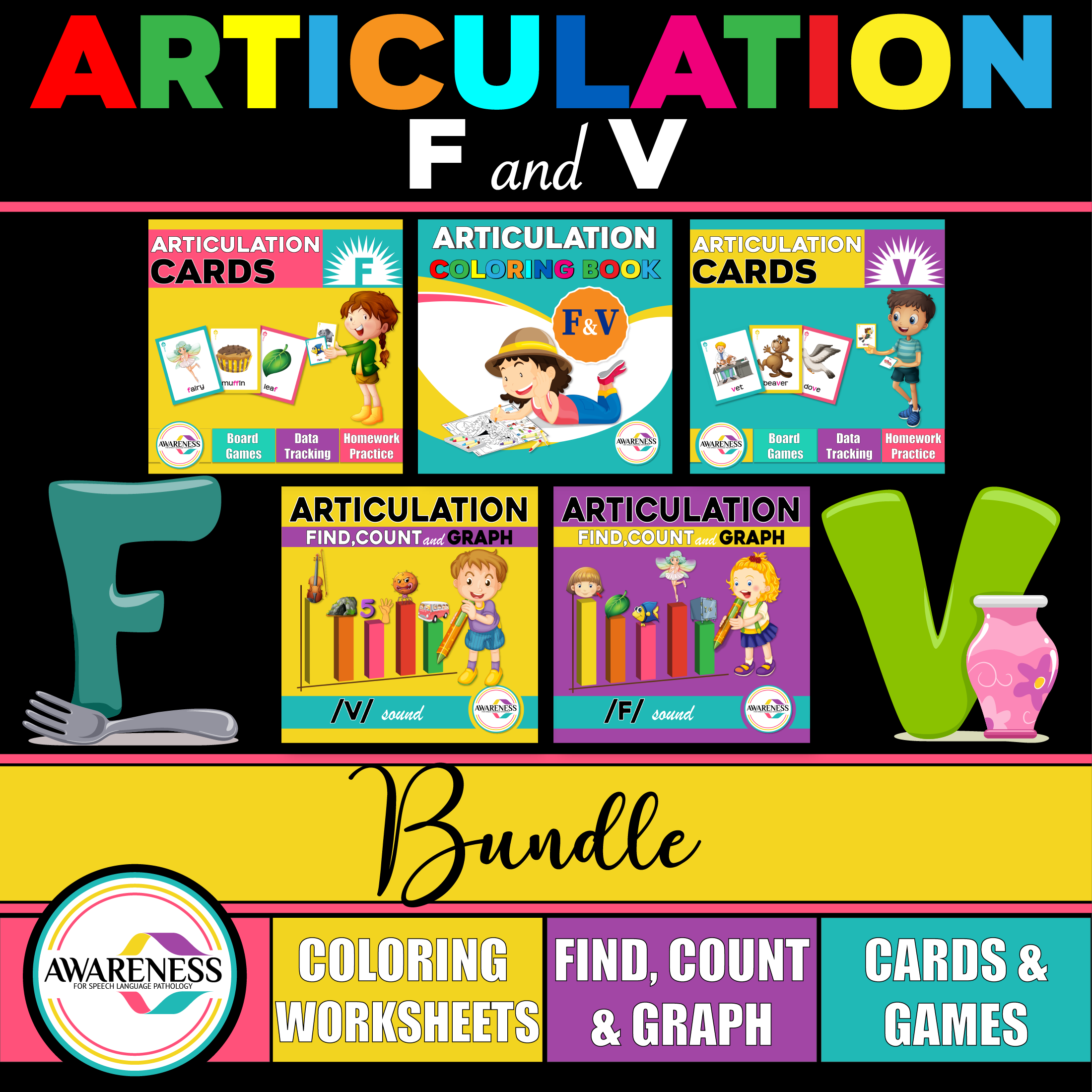 Articulation Activities For F Amp V Sounds