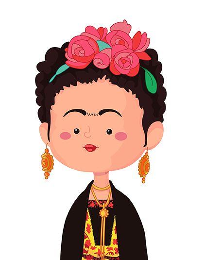 Productos Tht Tizashechastrizas Frida Kahlo Caricatura Frida Kahlo Dibujo Frida Kahlo