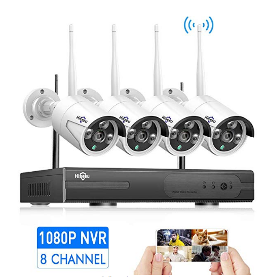 15 Best Outdoor Wireless Security Camera System With Dvr Of 2019 Wireless Security Camera System Wireless Security Cameras Wireless Home Security Systems