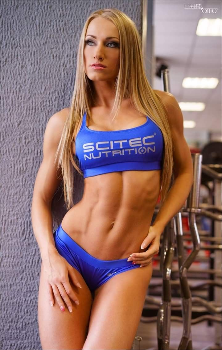 Pin on female fitness model