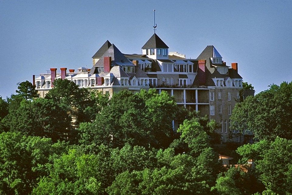 Crescent Hotel In Eureka Springs Arkansas Designandtech