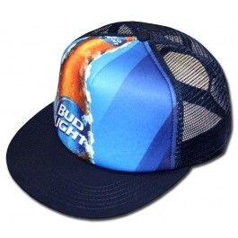 2ba2826c765 Bud Light Crispy Bottle Trucker Hat. Official from Bud Light!