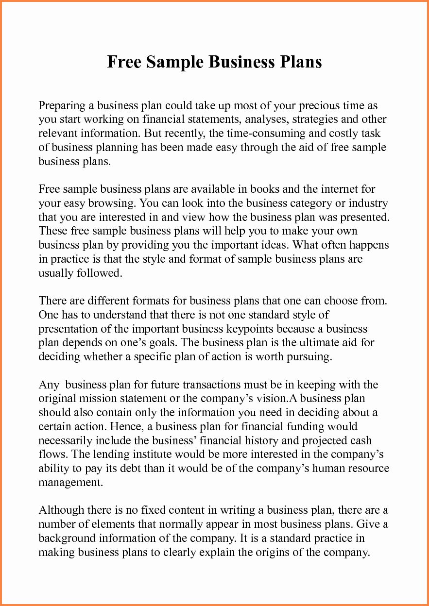Business Proposal Example Pdf New 5 Sample Of Business