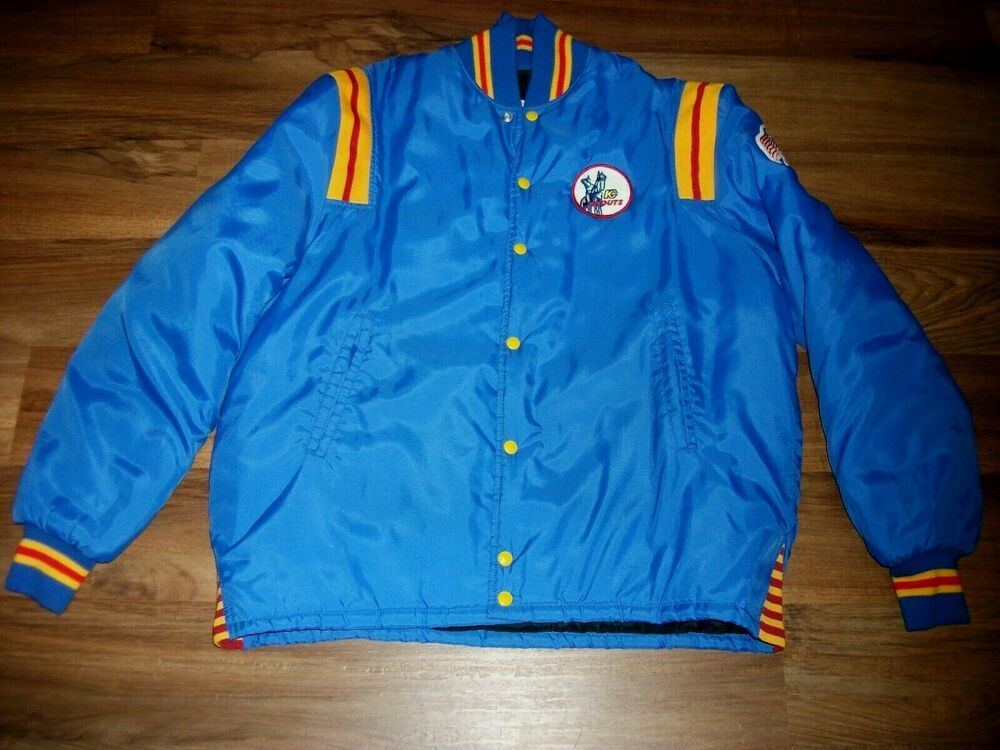 Vintage Kansas City Scouts Nhl Hockey Jacket Coat Men S Large 48 Very Rare Nice In 2020 Men S Coats And Jackets Mens Coats Nhl Hockey