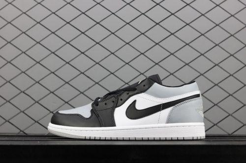 huge discount d4df1 6d0c4 Purchase Air Jordan 1 Low White Atmosphere Grey-Black - Mysecretshoes