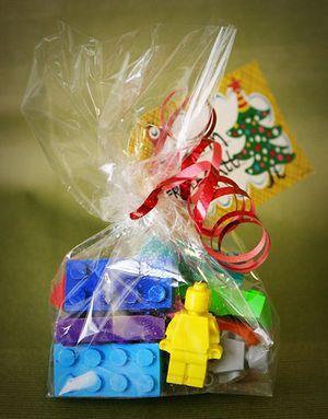 Lego Party Thank You Gift Yes Molded Crayons