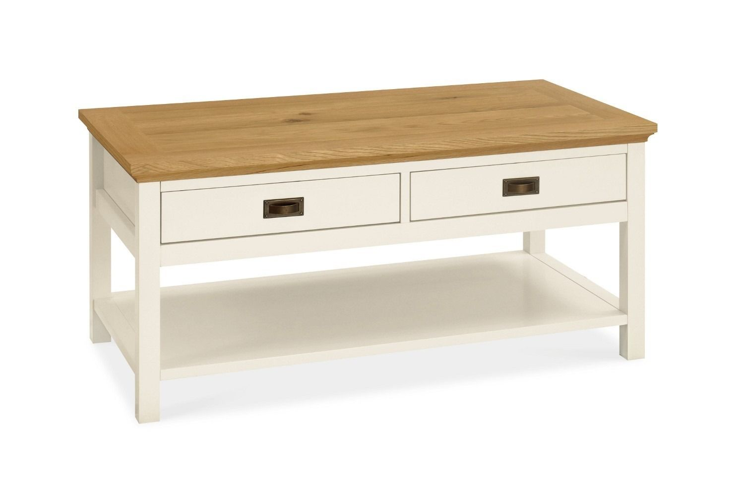 Hampshire Two Tone Coffee Table With Drawers Coffee Tables Lounge Living Buy Coffee Table Cheap Coffee Table Coffee Table [ 969 x 1500 Pixel ]