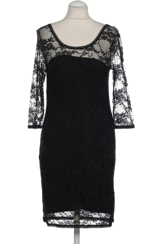 H&M Kleid Damen Dress Damenkleid Gr. M Elasthan Baumwolle schwarz