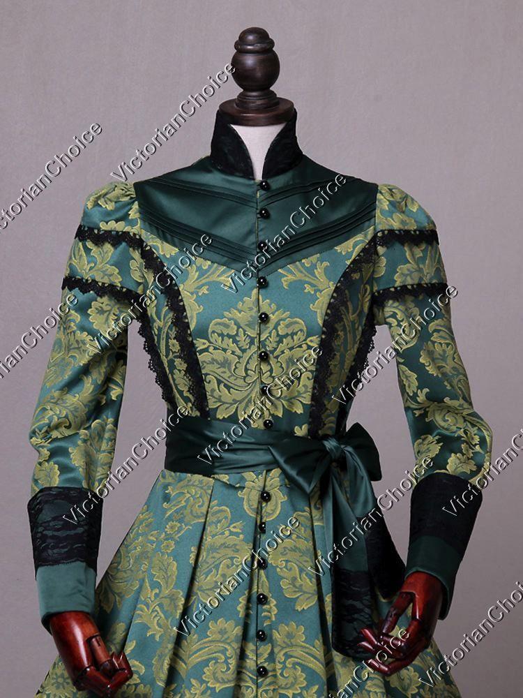 Victorian Regal Medieval Queen Brocade Game of Thrones