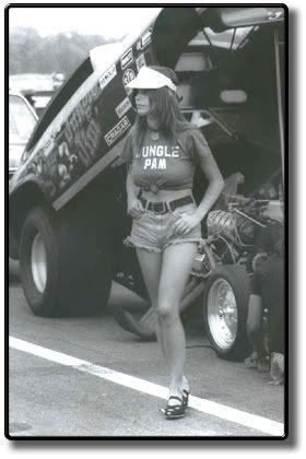 Photographic Archives Photo 1973 Jungle Pam Hardy Jim Liberman Chevy Vega