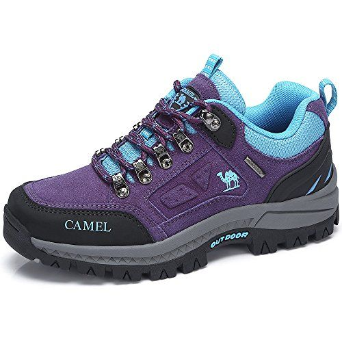 a983d25a9f Camel Women's Outdoor Leather Hiking Shoes Breathable Lightweight ...