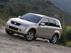 Suzuki grand vitara recall