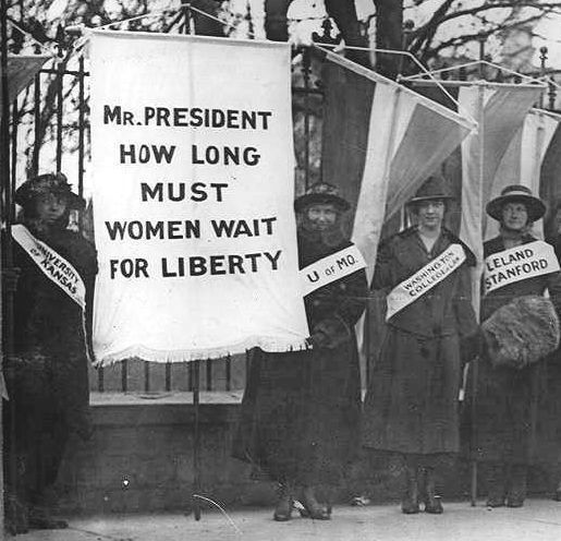 A new women's suffrage group, The National Woman's Party (NWP ...