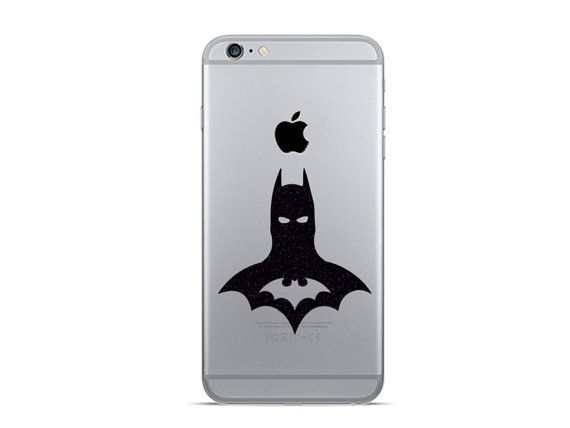 Batman velvet decal 2 iphone 6 decals iphone by mirshkastudio
