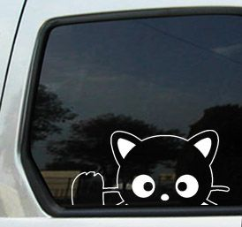 CHOCOCAT HELLO KITTY CAT Sticker Decal Car Window Vinyl ColorWh - Hello kitty custom vinyl decals for car