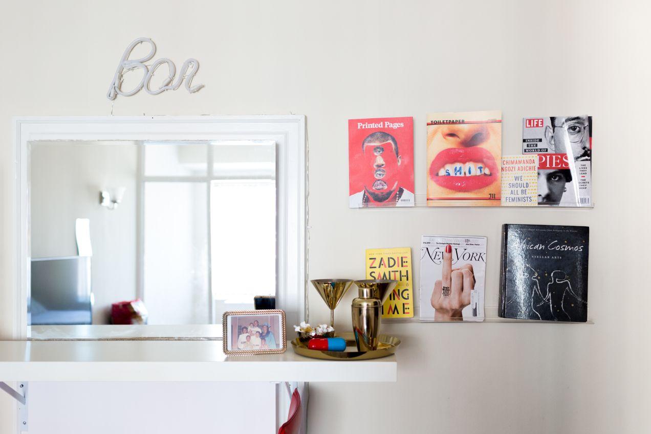 A d c apartment with pop art interior design