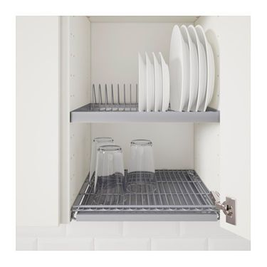 Utrusta Dish Drainer For Wall Cabinet Ikea In 2019 Compact Kitchen