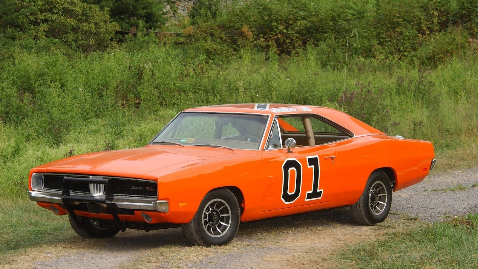 Classic Car Posters Dodge Charger 1969 The General Lee