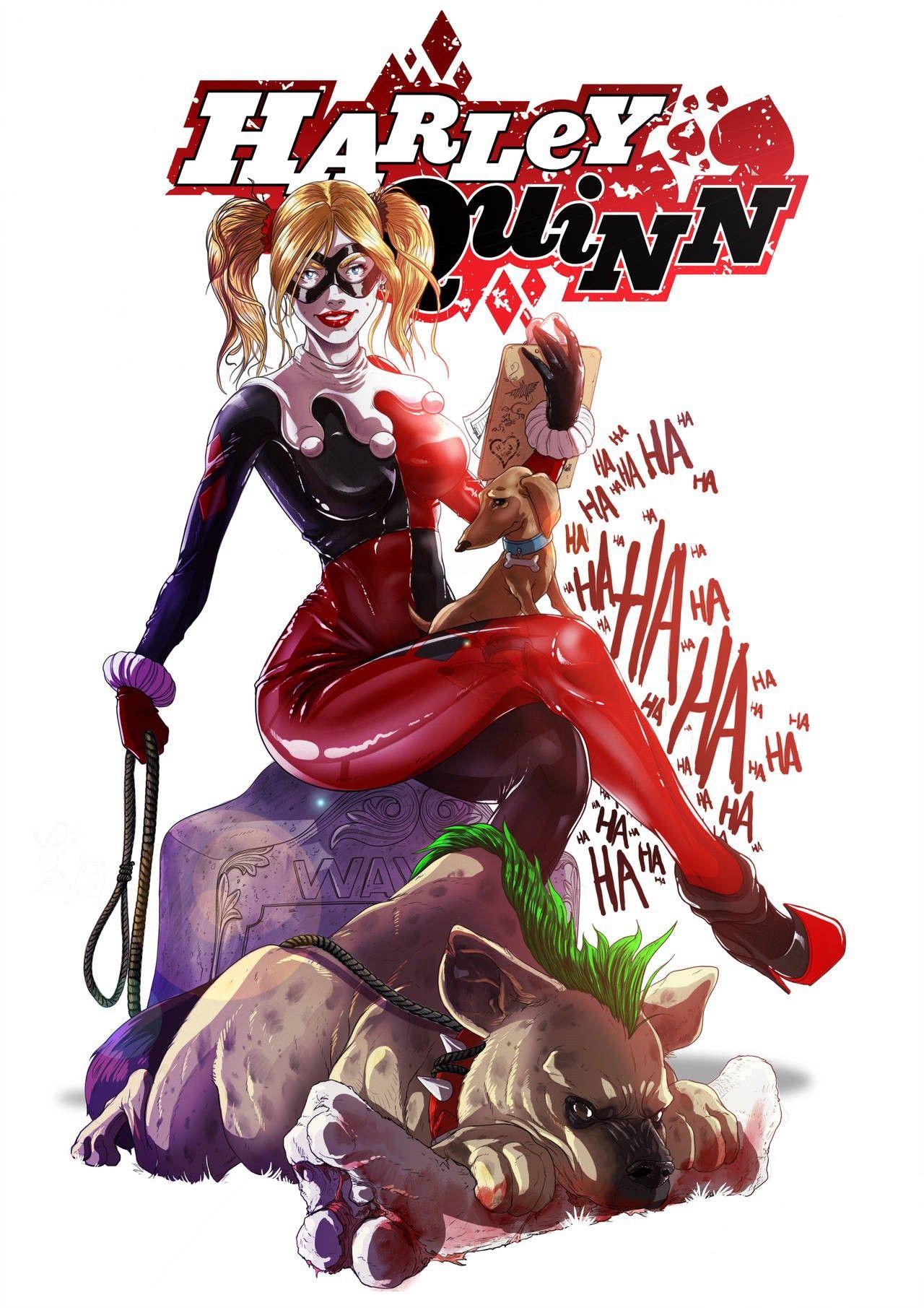 Épinglé sur Harley Quinn