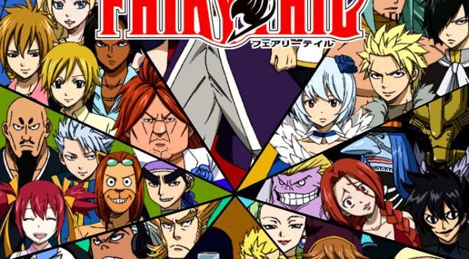 Fairy Tail Grand Magic Games arc Fairy tail anime