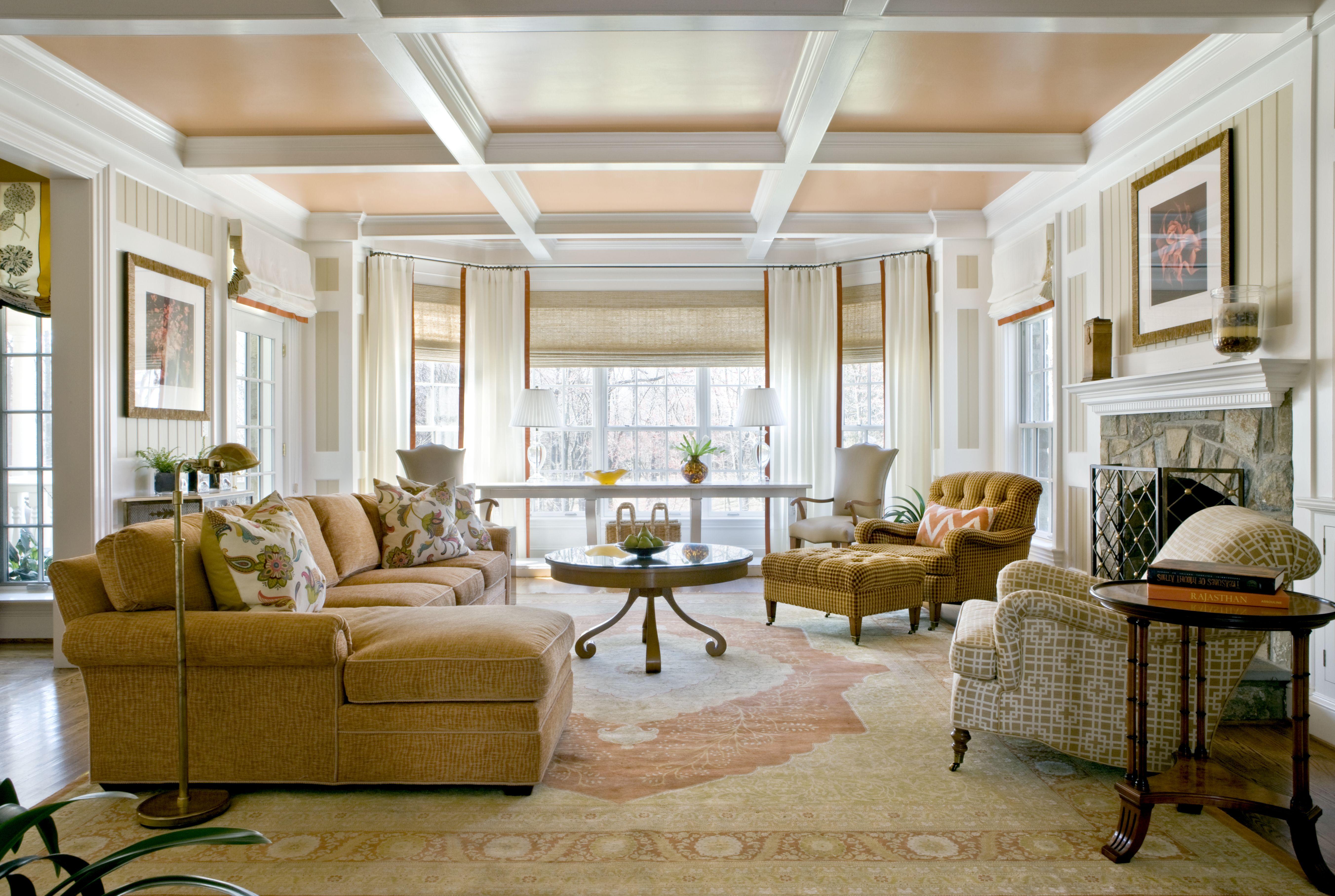 By Tydings Design Gold Sofa Family Room De