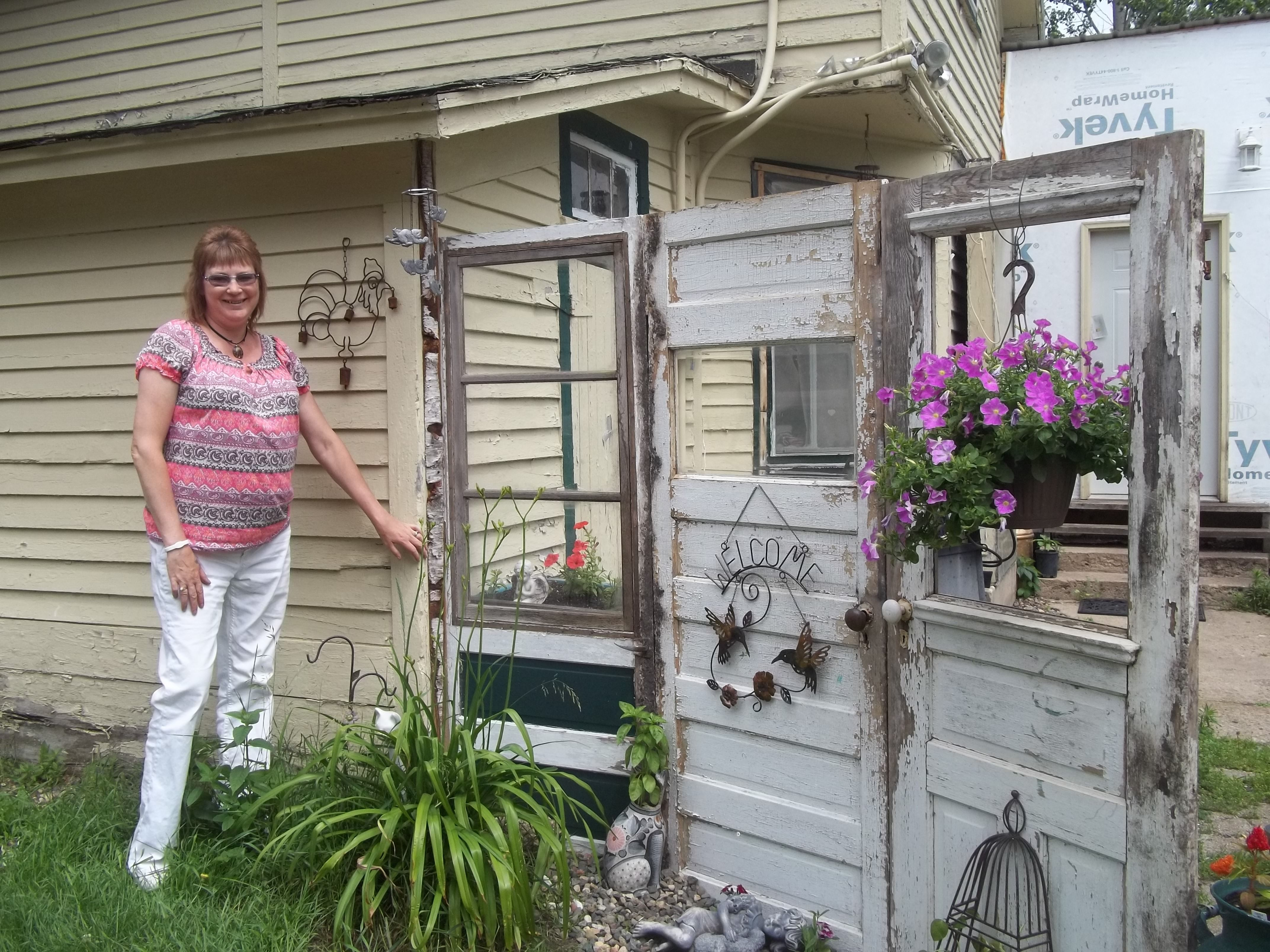 Old window ideas for outside  how to make a privacy fence  for the home  pinterest  privacy