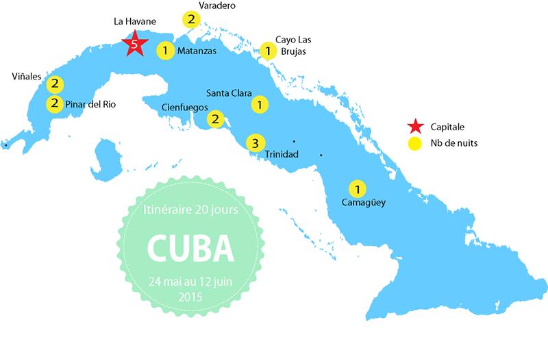 Carte Cuba Amerique.Itineraire A Cuba Budget Infos Et Liens Utiles Voyages Voyage