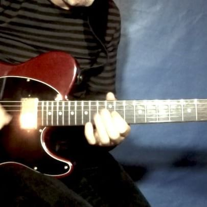 Here's a lick where I'm using 3 pentatonic scales from the Am dorian mode. The…