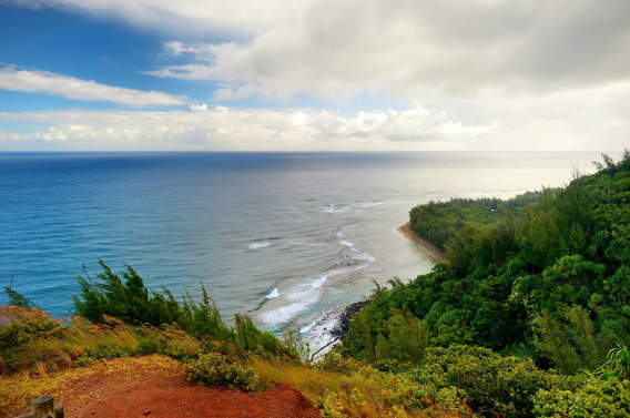 The definition of rugged beauty, this  narrow 11-mile trail will have you trekking the incredible coastline of the Hawaiian island Kauai. Work your way from fine-sand beach to towering bluff and take in the turquoise waters crashing below you. Don't be fooled, though, just because this hike offers breathtaking beauty in a tropical setting doesn't mean it is an easy trip. The rolling hills provide a perfect challenge, but at least you can look forward to lounging on a beach at the end.