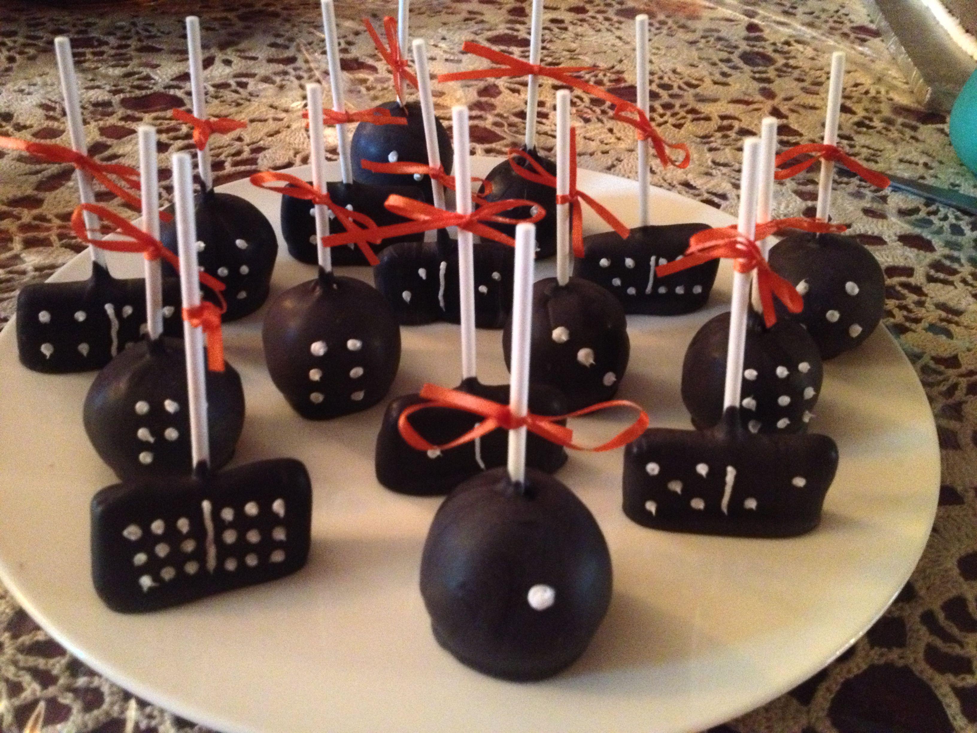 cake pop ideas wedding shower%0A Domino cake pops