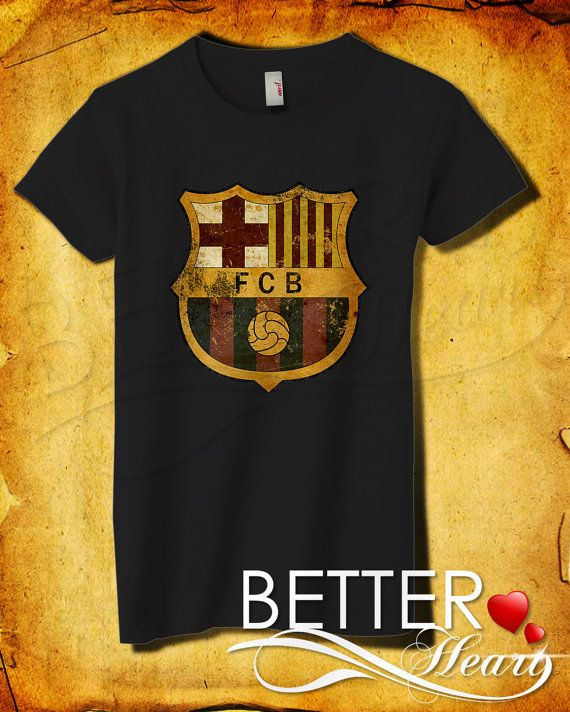 Barcelona logo women tshirt barcelona tshirt by betterheart t shirt for women - Forlady barcelona ...