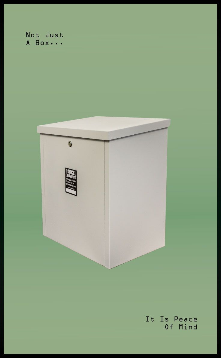 Anti Theft Parcel Delivery Box For Package Security