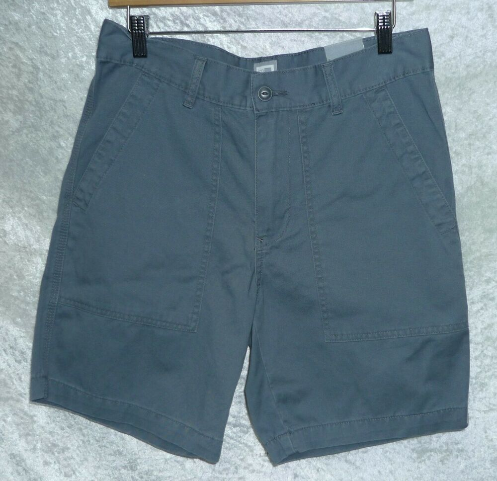 NEW Men's JCP Twill Shorts Flat Front size 30 Grey #JCPenney #ChinosKhakis  #Casual | Twill shorts, Mens swim trunks, Printed swim