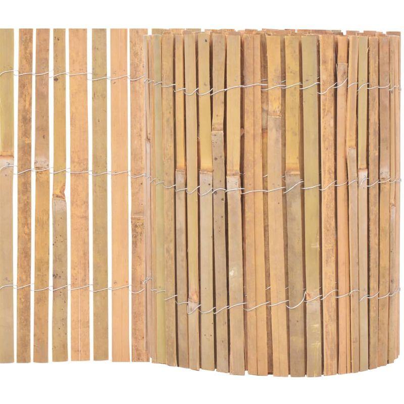 Vidaxl Cl?ture De Jardin Bambou 1000 X 30 Cm