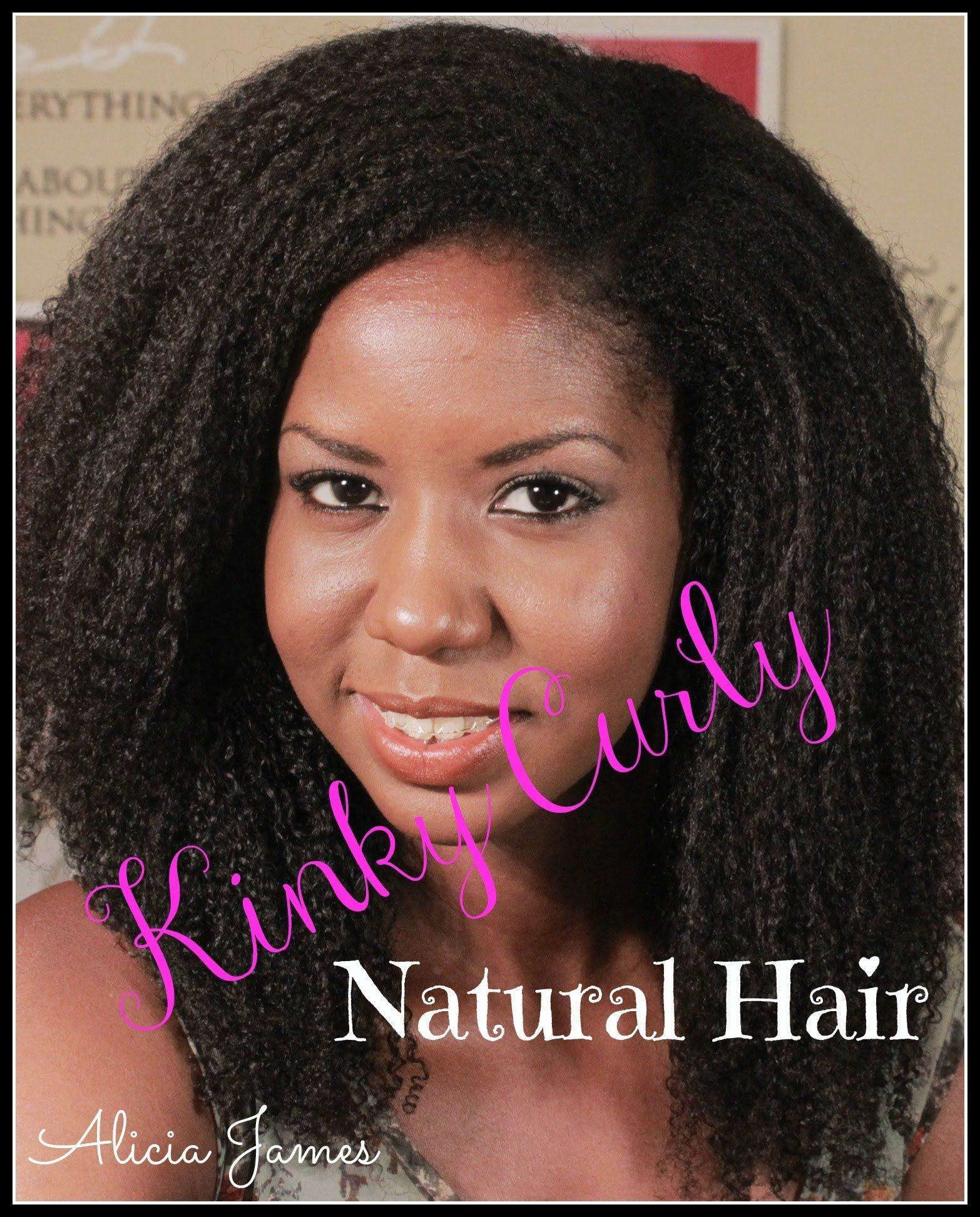 My kinky curly hair routine natural hair natural hair