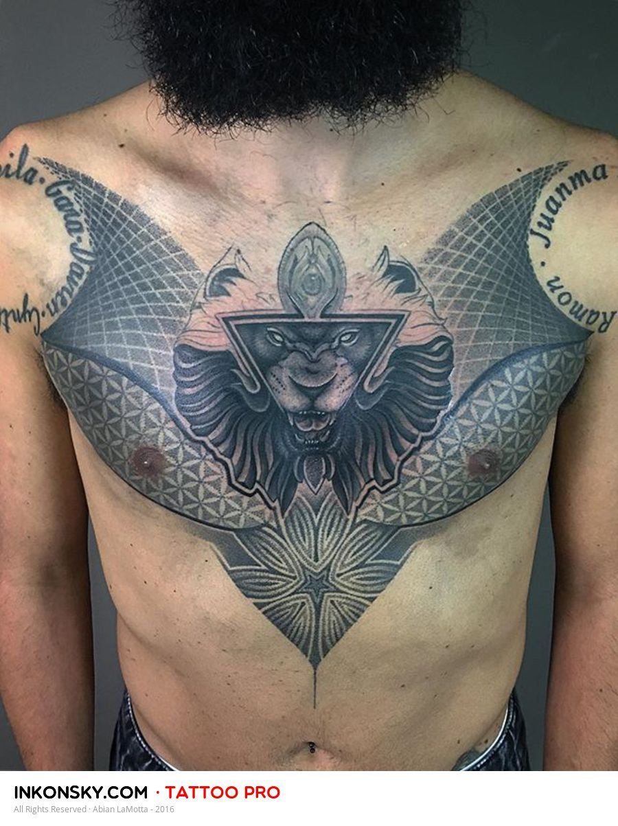 Tattoo by abian lamotta tatu pinterest tattoo geometric