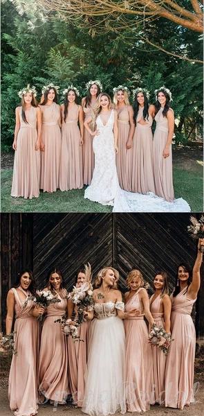 Convertible Unique Design New Long Soft Custom Bridesmaid Dresses Wedding Guest Dress Wg569 Custom Bridesmaid Dress Wedding Guest Dress Wedding Gowns Mermaid