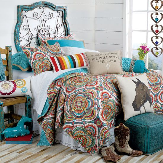 as for me and my horse quilt  cowgirl bedroom bedroom