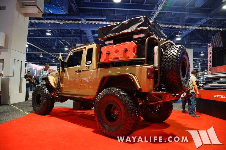 WAYALIFE Jeep Forum WAYALIFE 2015 SEMA Show RECAP