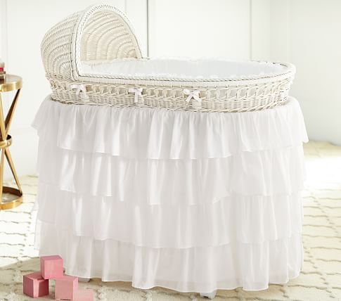 Belgian Flax Linen Bassinet Bedding In 2020 With Images