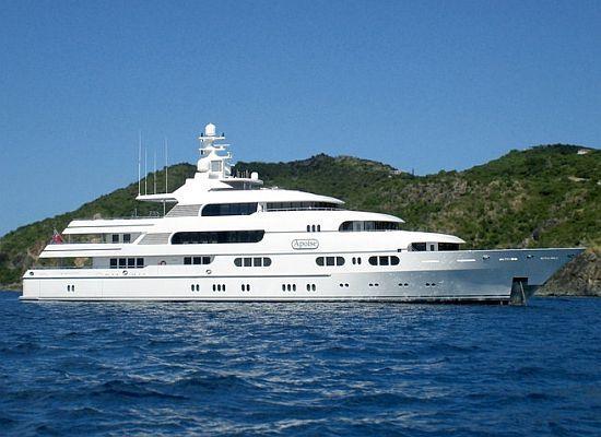 apoise luxury mega yacht  46 million
